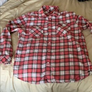 RVCA Men's Flannel sz large